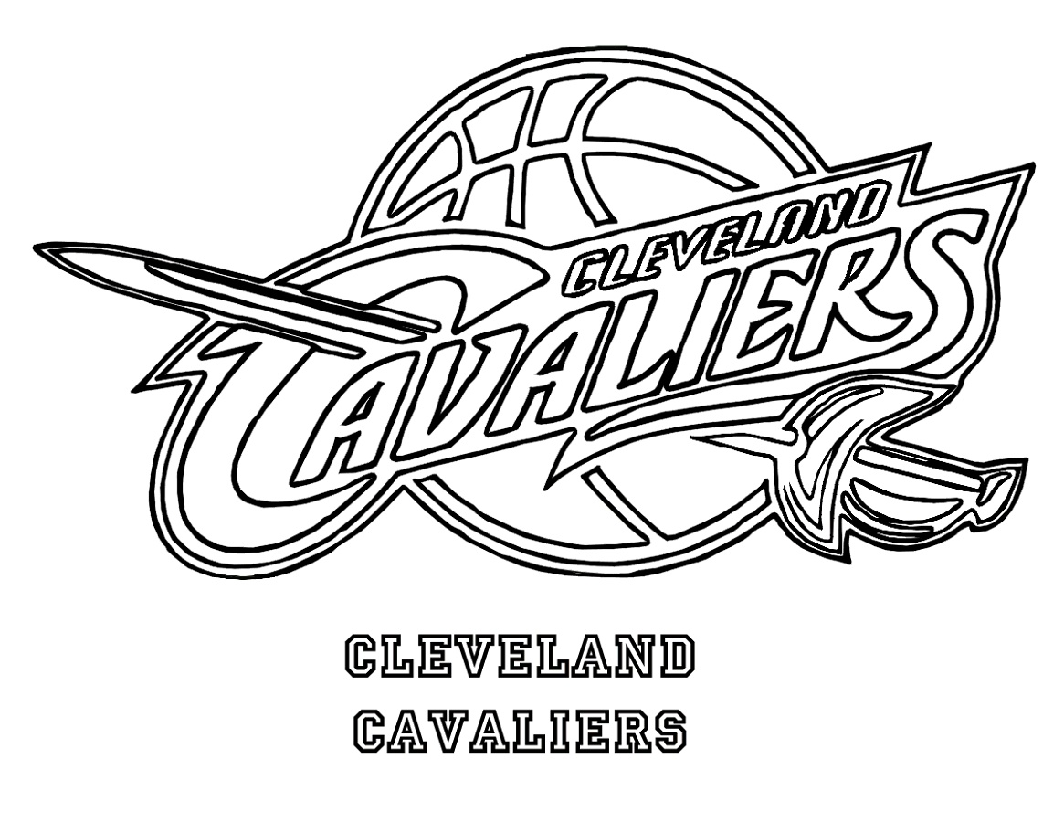 Cavs Coloring Pages For Sports Lovers