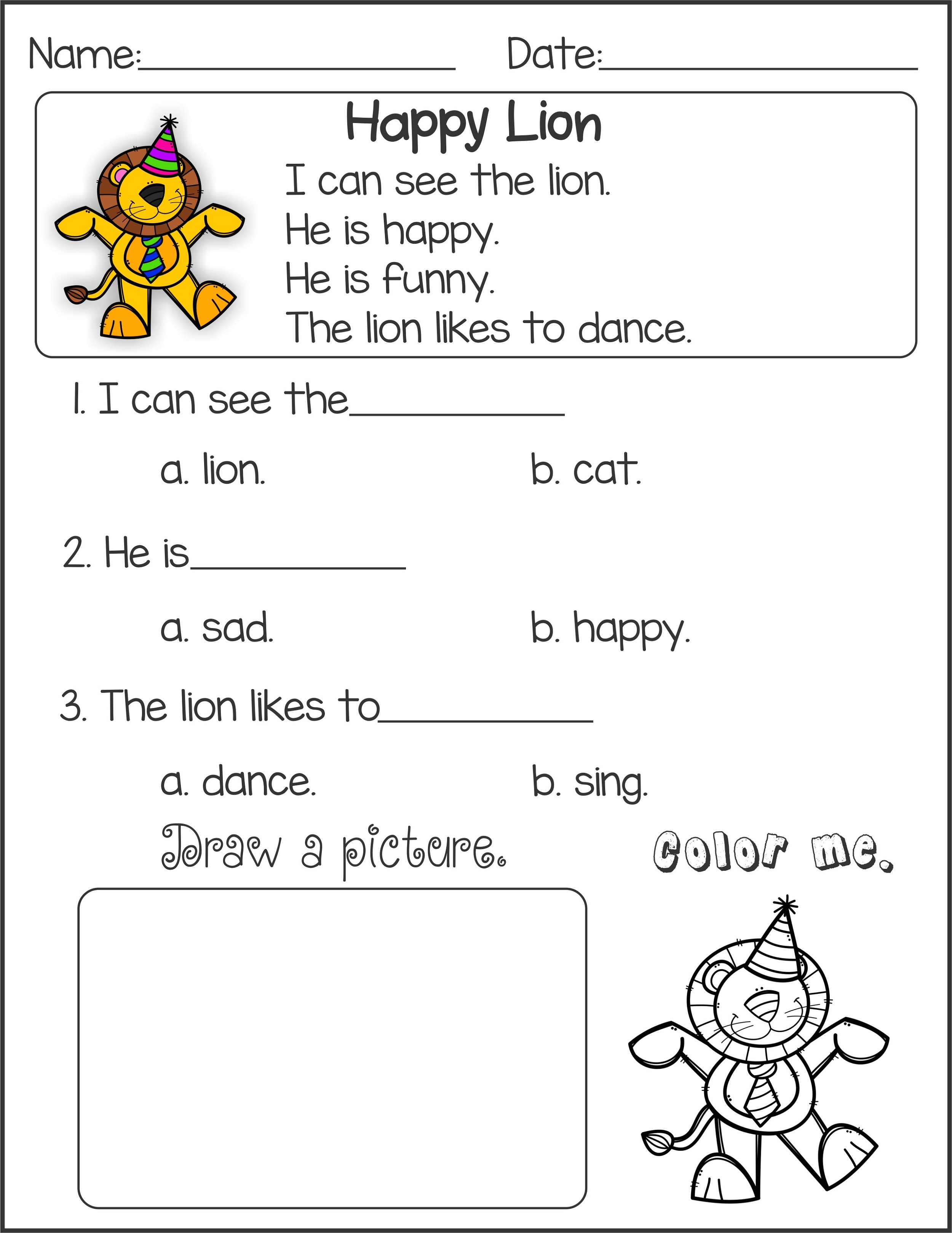 Literacy Worksheets Christmas For Studying Literacy