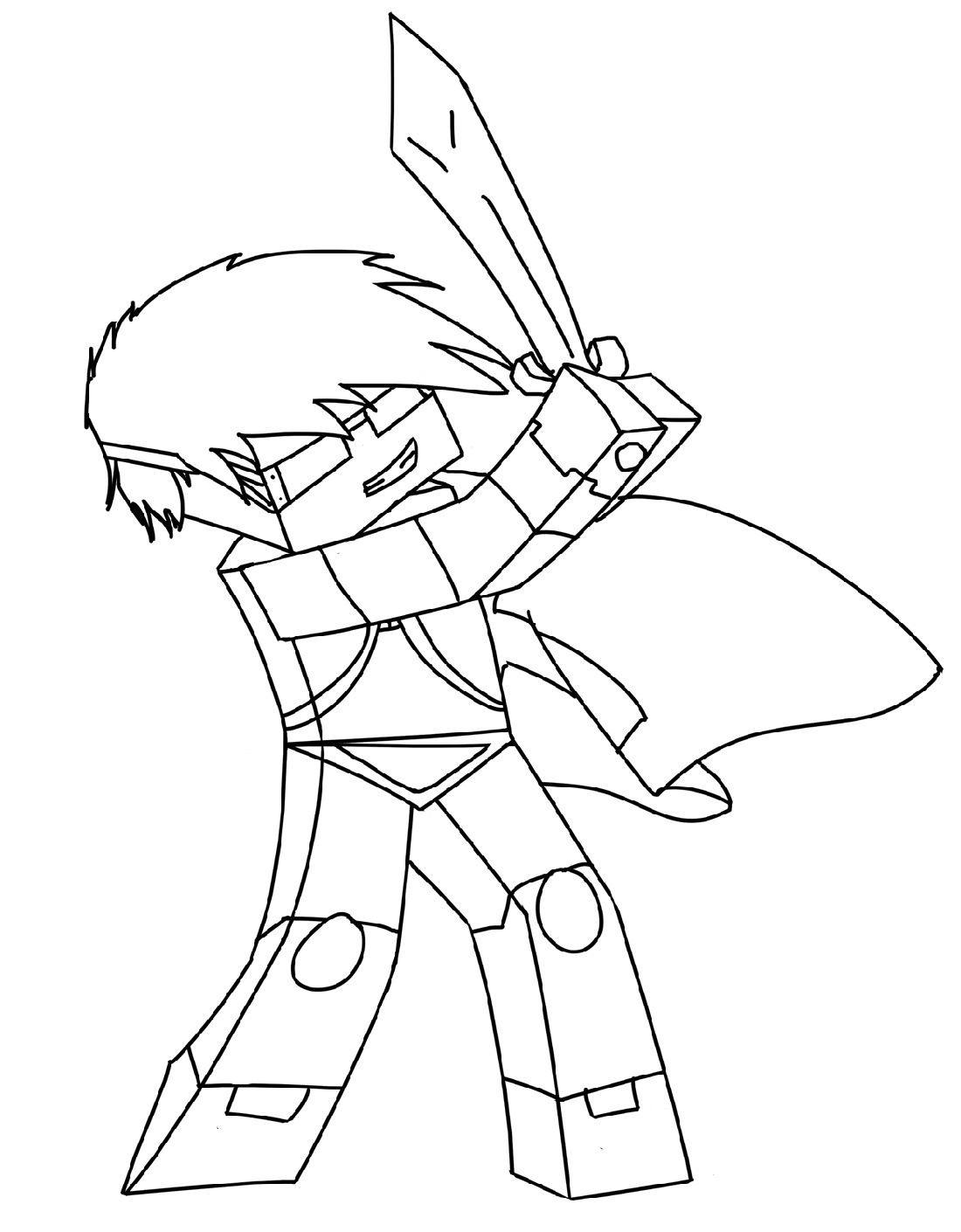 Dantdm Coloring Pages Free Downloadable