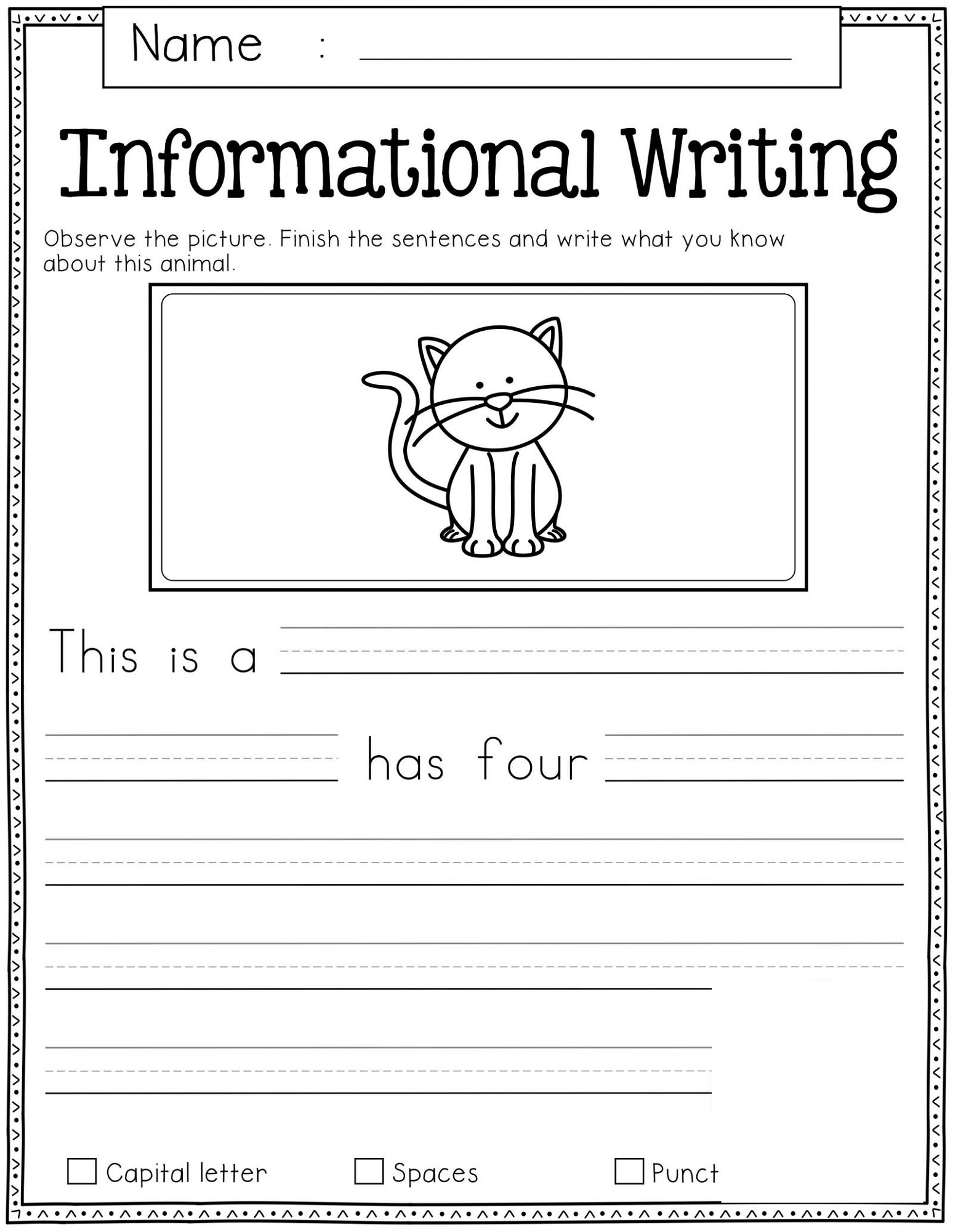 Free Homework Worksheets For All Ages