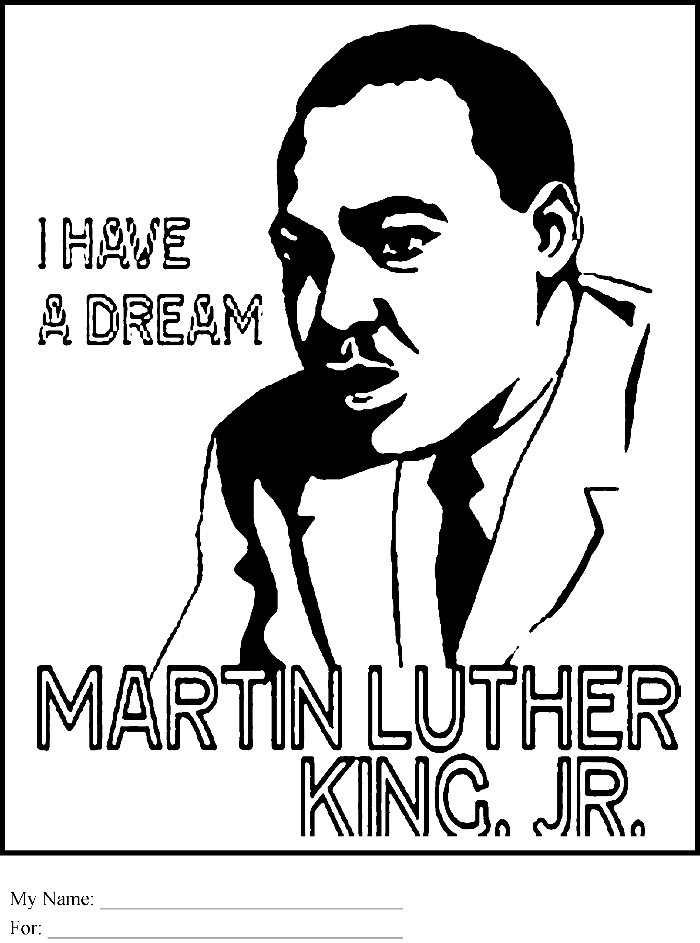 Black History Coloring Pages Free