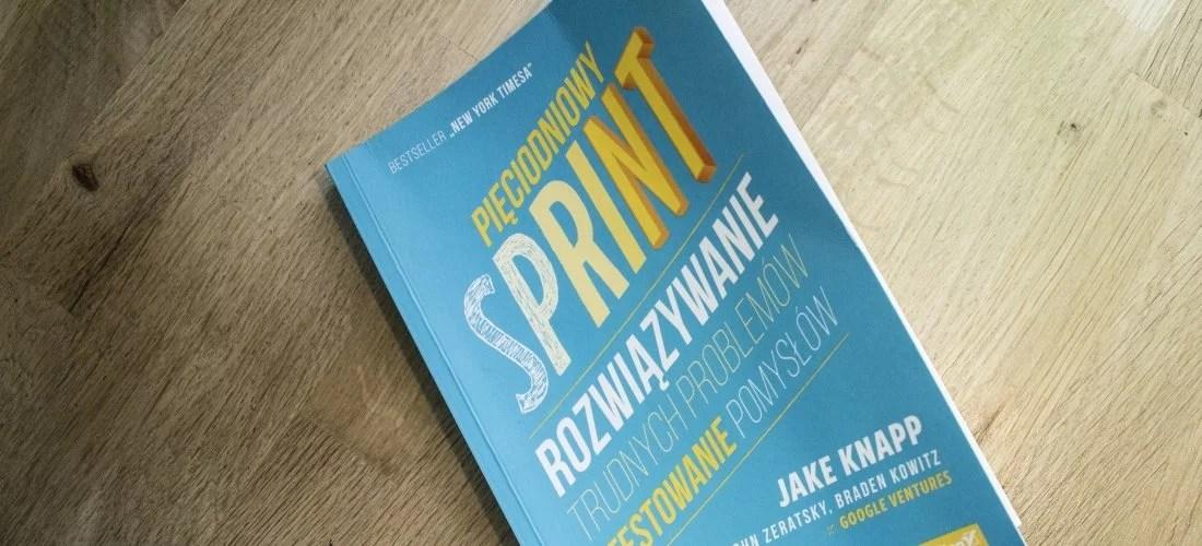 blog post recenzja pięciodniowy sprint