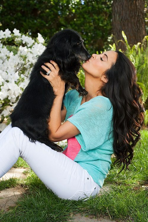 Amy Weber and Shady K9 Magazine