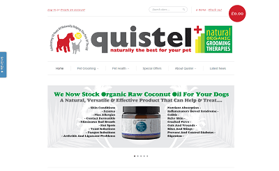 Quistel Organic Pet Care   Grooming Supplies For Dogs  Cats   Horses