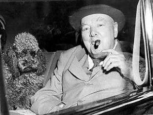 Winston Churchill and Rufus