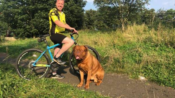 This Man Is Cycling 300 Miles to Help Dogs in Rescue Find New Homes