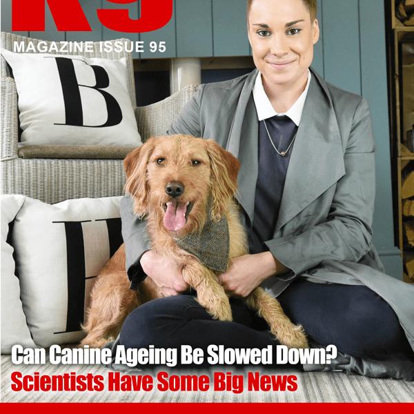 K9 Magazine Issue 95 Cover - Harriet Lee (HR)