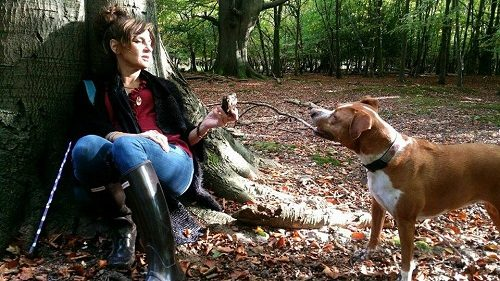 Meet the Rescue Dog who Saved Her Owner From a Fire
