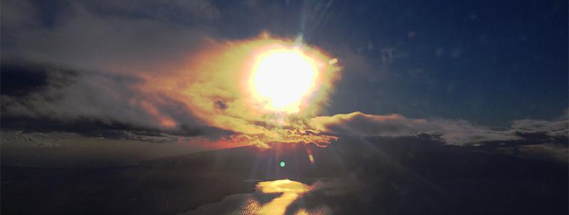 Sunrise over Maunakea. By Leilehua Yuen