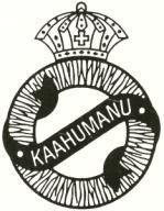 'Ahahui Ka'ahumanu logo B&W Old Style