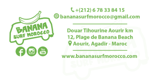 contact banana surf morocco - surf camp