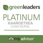 tripadvaisor - casa rural ecológica casa rural ecológica Kaaño etxea - greenleaders-ecolider platinum