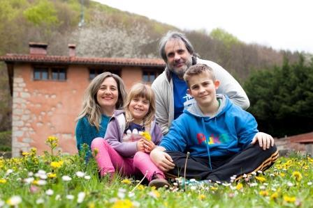 casa rural ecológica Kaaño etxea - familia Sayaka