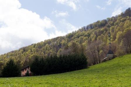 casa rural ecológica Kaanoetxea - prado-Sayaka