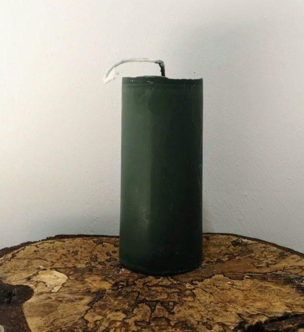 stompkaars koolzaadwas Ø 6.5 x 15 cm rijtuig groen
