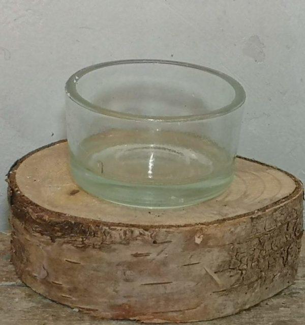 waxinelicht glaasje