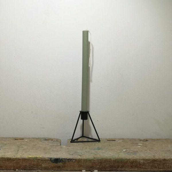 Tafelkaars koolzaadwas, ø 2 cm x 30 cm, mos groen