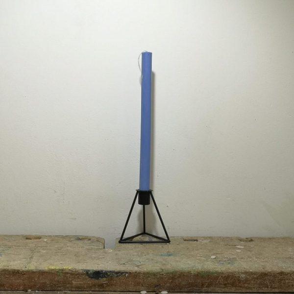 Tafelkaars koolzaadwas , ø 2 cm x 30 cm, blauw