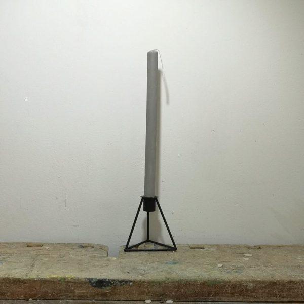Tafelkaars, ø 2 cm x 30 cm, licht grijs