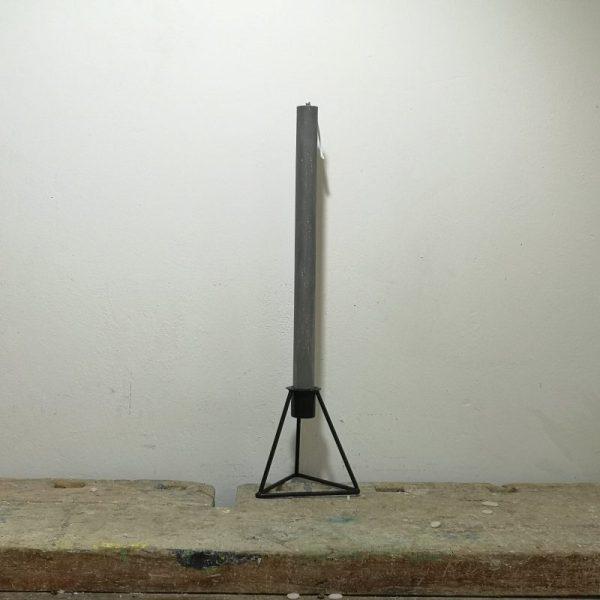 Tafelkaars, ø 2 cm x 30 cm, grijs