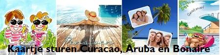 Kaartje sturen Curacao, Aruba en Bonaire