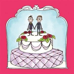 Tekst kaartje homohuwelijk