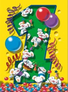 Tekst kaartje 1e verjaardag