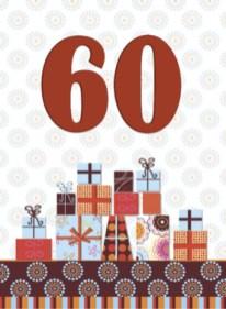 tekst kaartje 60 jaar