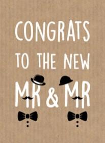 Tekst kaart pas getrouwd