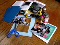 Materiaal om collages te maken
