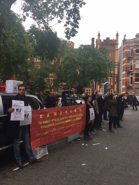 Against Iran Election 2017-London