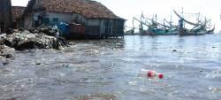 Banjir Rob Terjang Ratusan Rumah Warga di Muncar