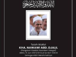 Innalillahi, Kiai Nawawi Pengasuh Ponpes Sidogiri Pasuruan Wafat