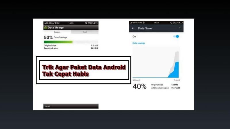 2 Cara Ampuh Menghemat Kuota Internet di Android