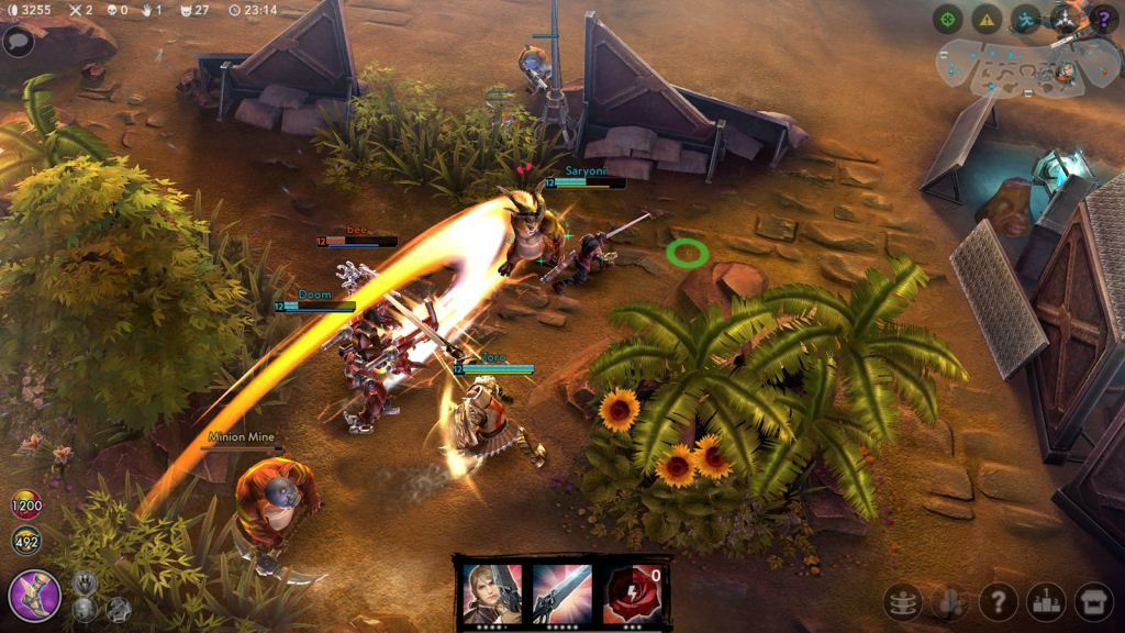 Gameplay Vainglory