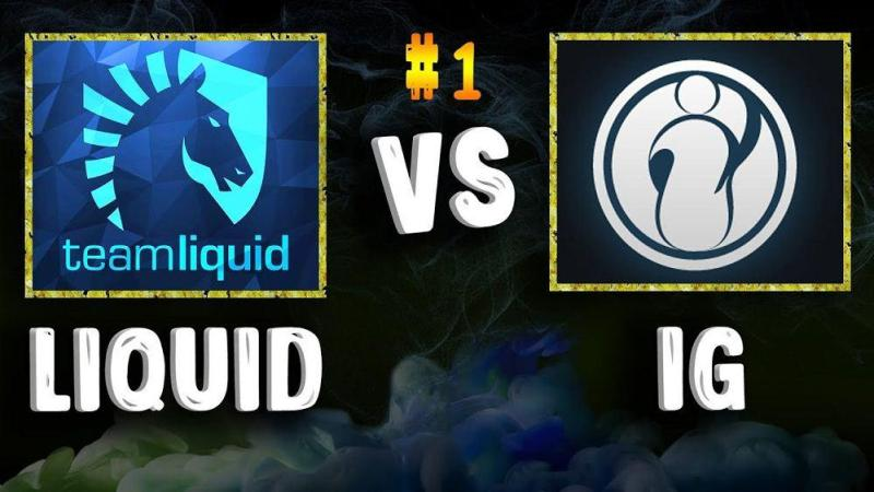Liquid VS Invictus Gaming: Playoff The International 7