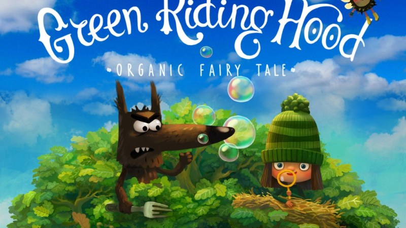 Kini, Green Riding Hood Hadir di Play Store