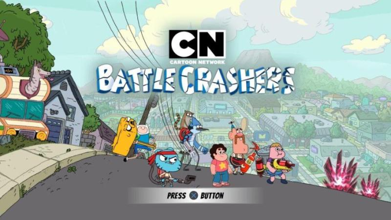 Cartoon Network Battle Crashers Dirilis Nintendo Switch