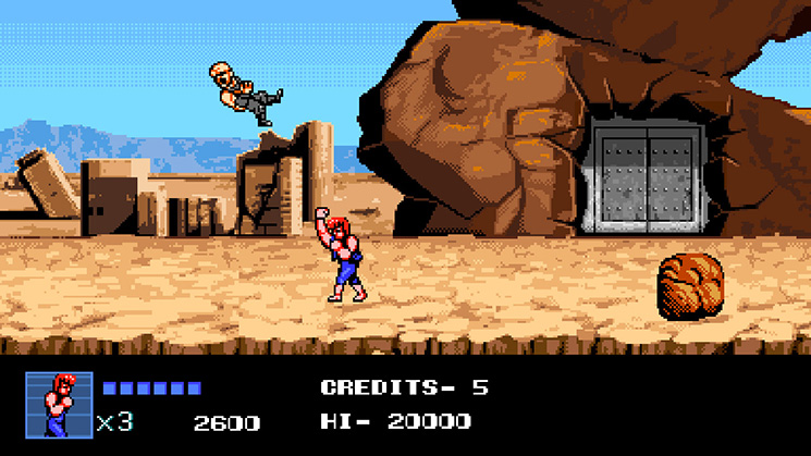 Game 2D Nintendo Switch - Double Dragon IV Switch