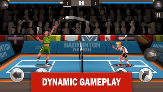 Gameplay Dinamis Badminton League