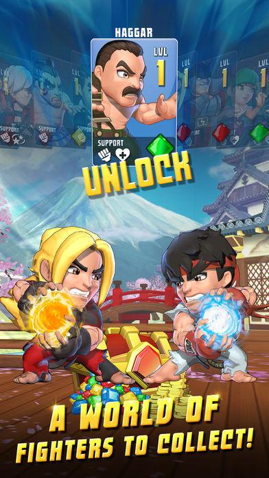 Koleksi Karakter Puzzle Fighter