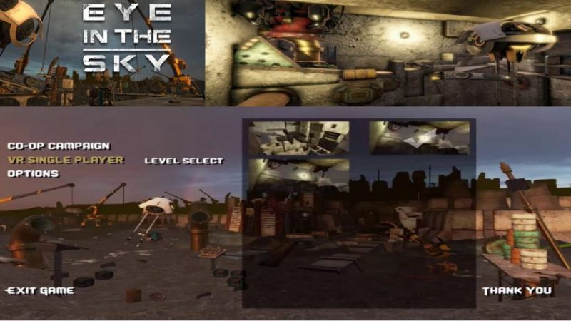Eye in the Sky, Game VR Puzzle Asymmetrical di Steam