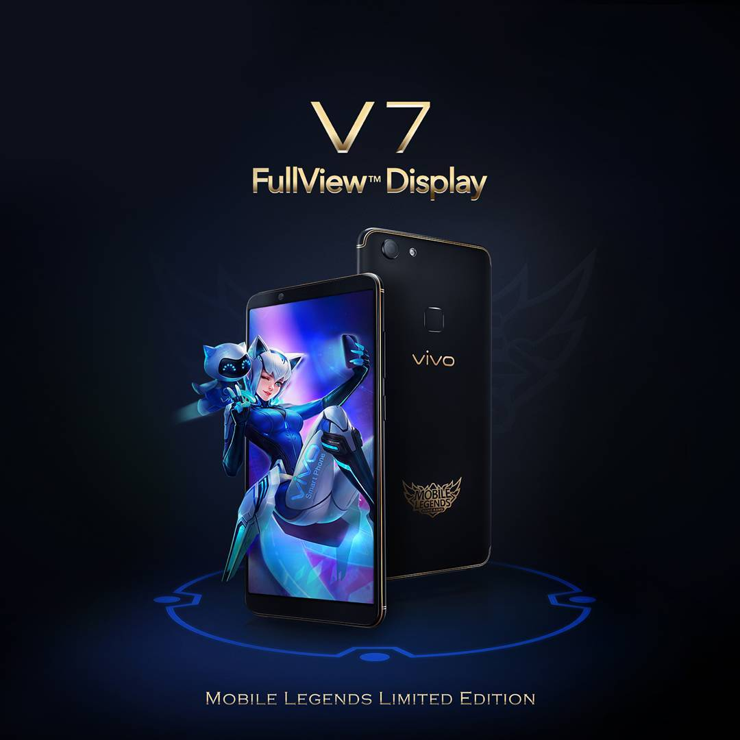 Vivo V7 Mobile Legends FullView Display