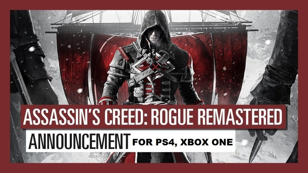 Assassin's Creed Rogue Remastered Announcement