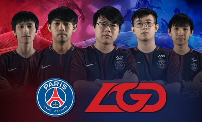 PSG LGD: Team Paris Saint Germain di DotA 2