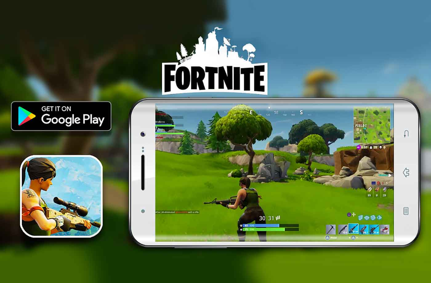 Fortnite Mobile Google Play