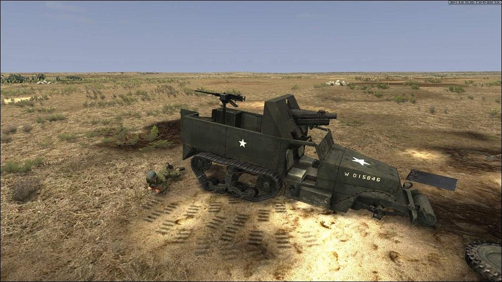 Kendaraan-Rusak Tank Warfare Tunisia 1943