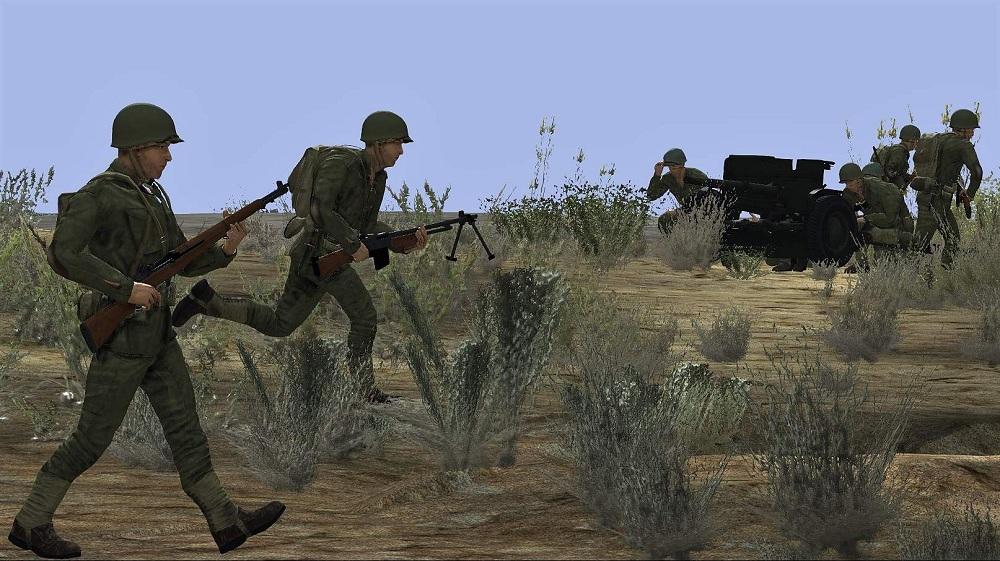 Unit-Infantri Tank Warfare Tunisia 1943