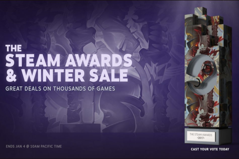 Steam Winter Sale dan Awards