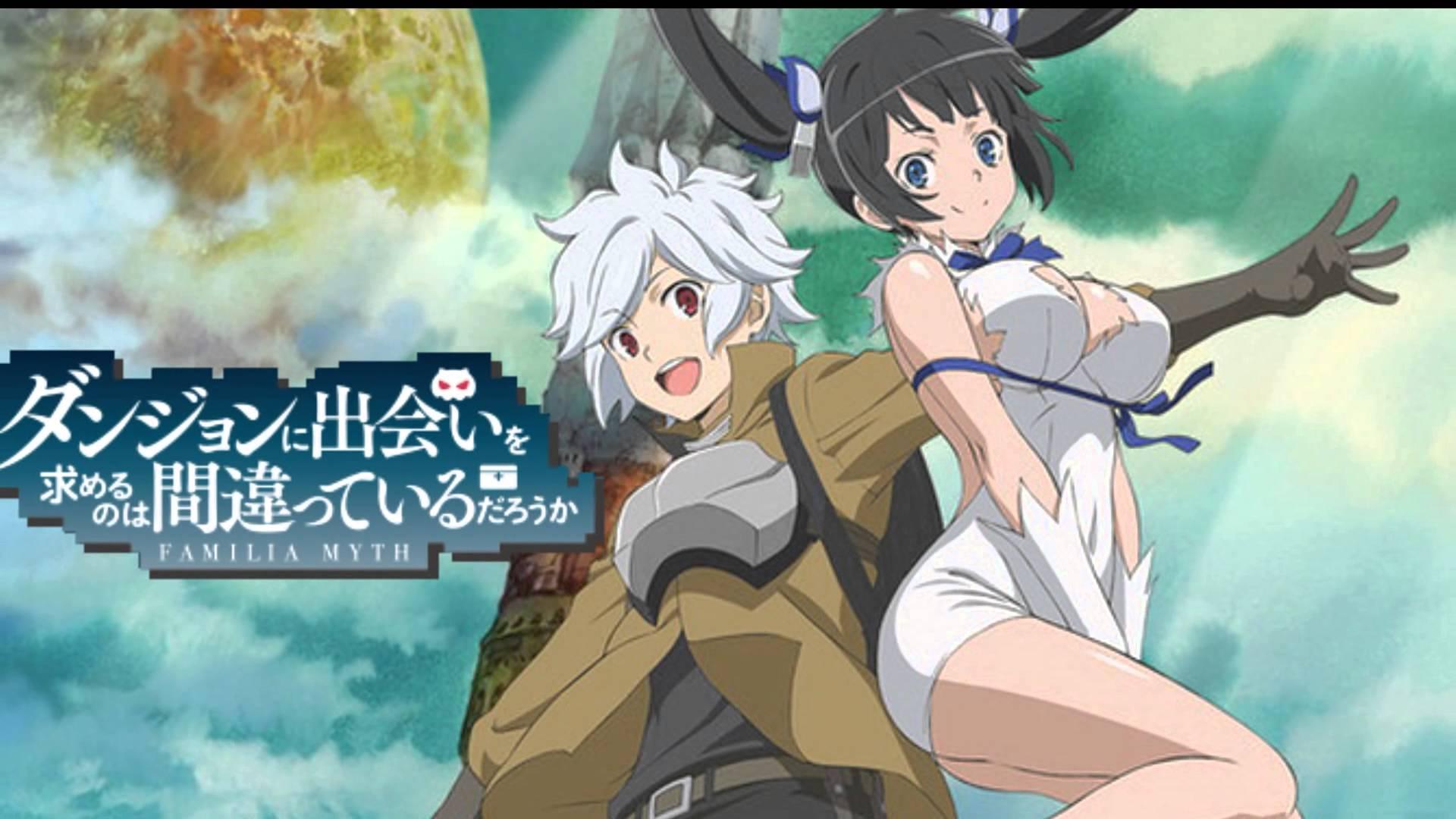 Anime Terbaik Danmachi